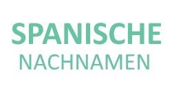 Bild der Top 30 spanischen Nachnamen